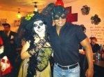 Cecilia Gallardo Gonzalez con  Ricardo Oceguer en El Beso Huasteco.