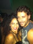 Mauricio Diaz-Roura @MauDiazRoura  y Barbara Mori @Delamori Ayer en rockstars!!!