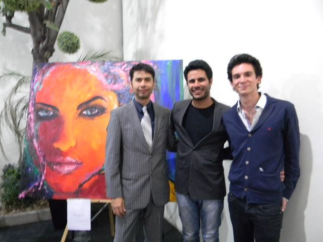 José Jiménez, Daniel Feher y Eduardo García Reyes Retana