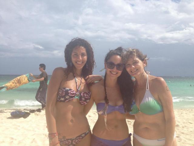 Lucia Masso, Barbara Mori y Rosário Ochoa