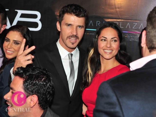 Leonardo García y Bárbara Mori