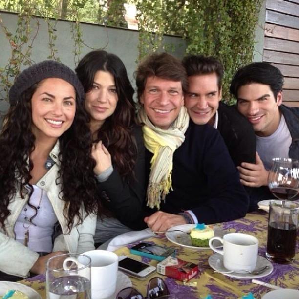 Barbara Mori, Victoria Diaz, Juan Pablo Muñoz y Santiago Fuster