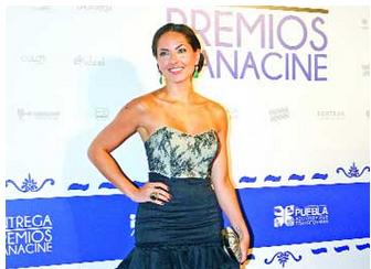 nvitada. Mori formó parte de la novena entrega de los Premios Canacine.