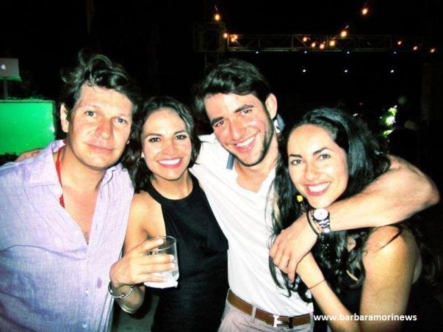Barbara Mori, Fabiola Campomanes y mas amigos