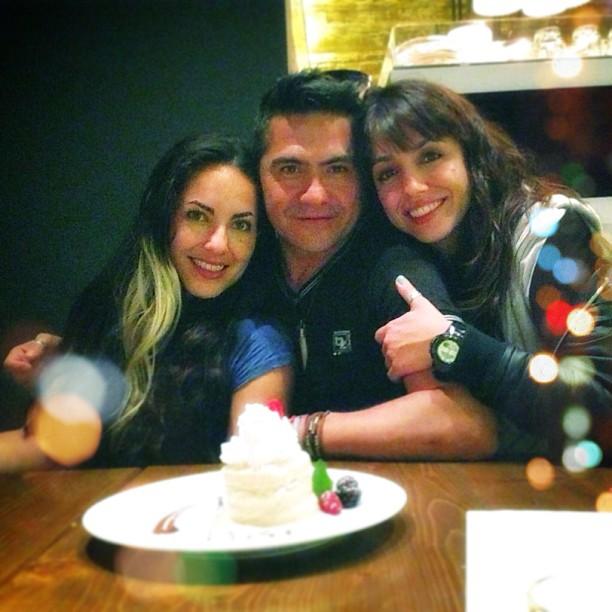 Barbara Mori, Oscar Aguirre Barrios y Mariannela