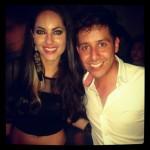 Barbara MORI con fan Miguel