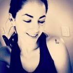 Barbara Mori en Instagram. Si..tu