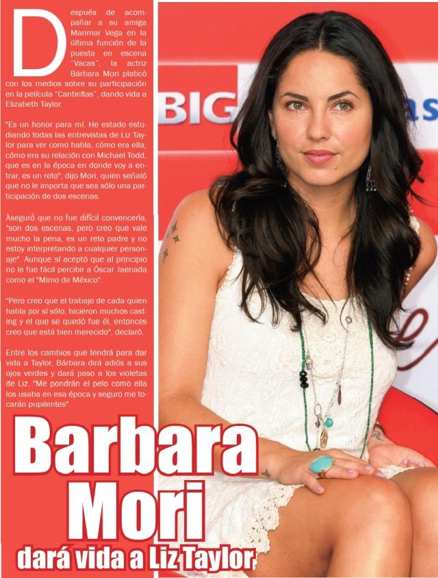 revista orale con barbara mori 2