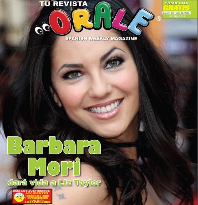 revista orale con barbara mori (PORTADA)